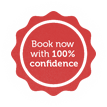 Book with 100% confidence
