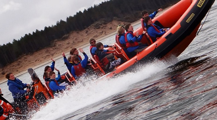 High speed RIB boat trip