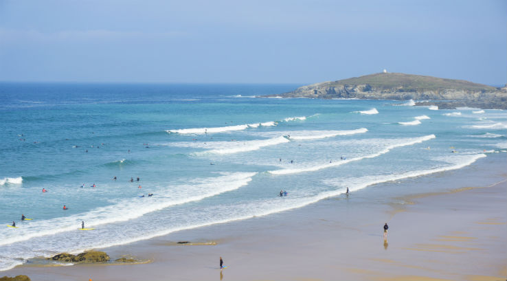 Waves at Fistral Beach