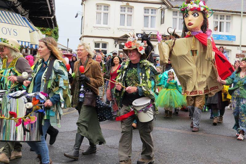May Day Parade Ilfracombe