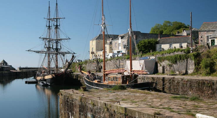 Charlestown, used as for Poldark
