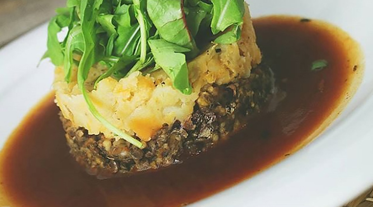 Vegan haggis from Henderson's of Edinburgh