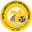 Honey Bee friendly park