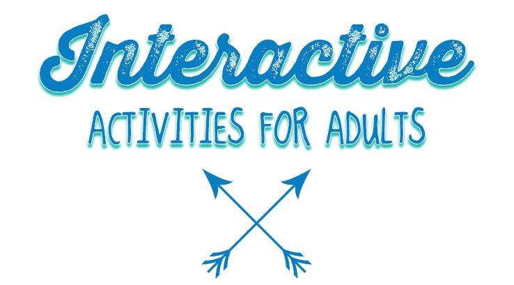 Interactive activities for adults graphic