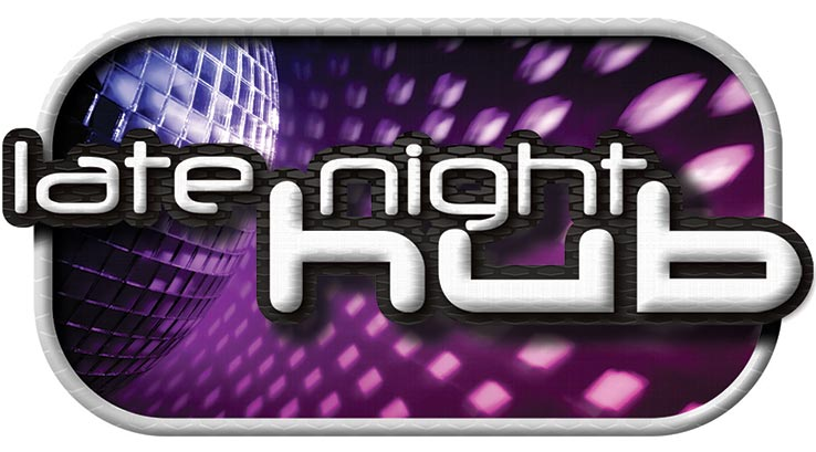 Late night hub logo