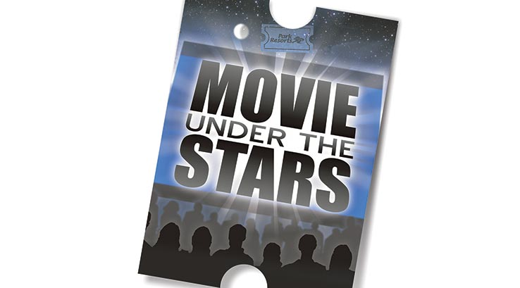 Movie under the stars logo