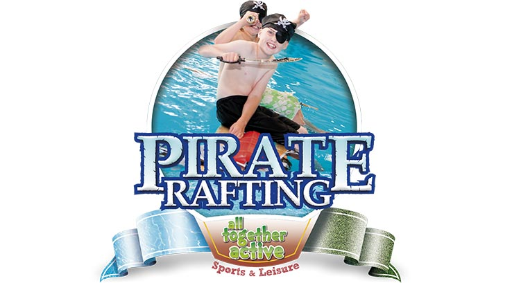 Pirate rafting logo