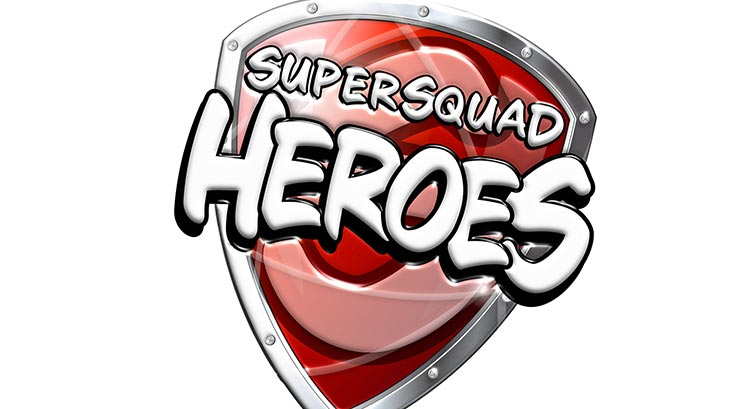 Supersquad heroes logo