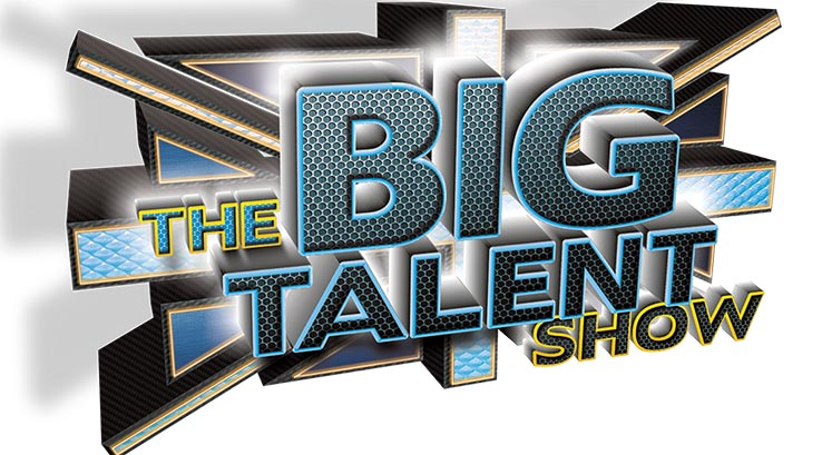 The big talent show logo