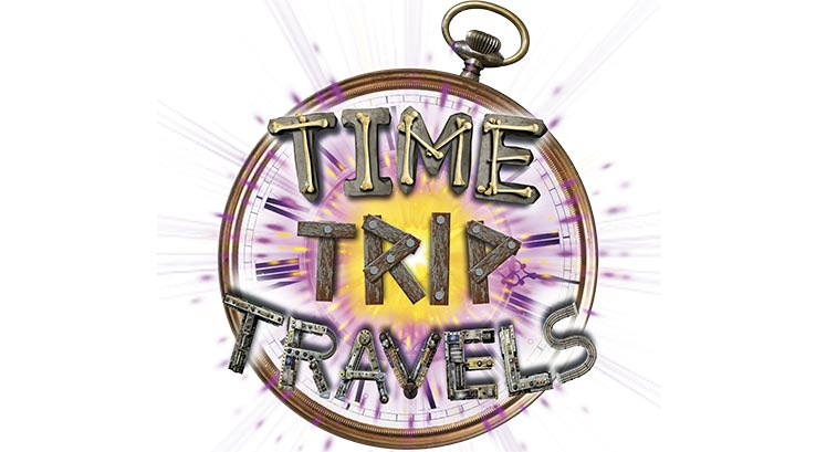Time trip travels logo