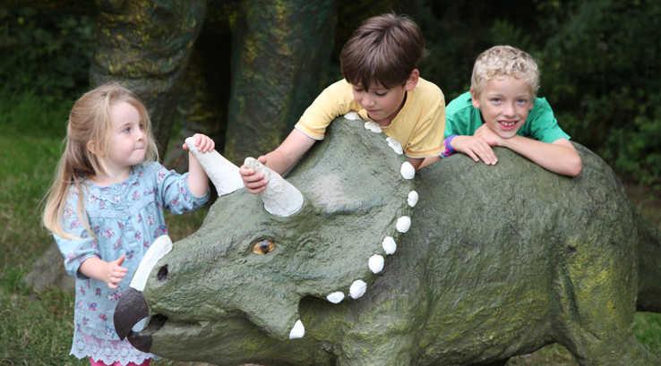 The Dinosaur Park - image Courtesy of The Dinosaur Park, Tenby, Dinosaur Days Out