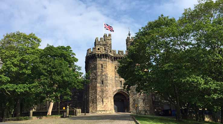 A summer's day at Lancaster Castle