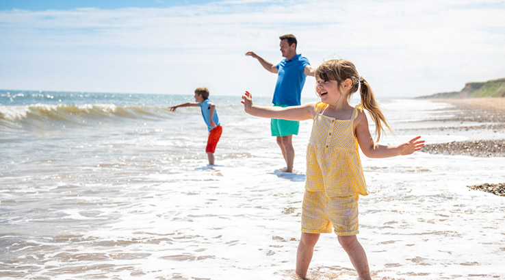 Bridlington Bay beach