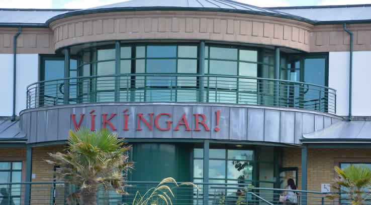 The Vikingar building at Largs