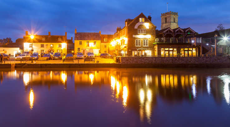 Wareham at night