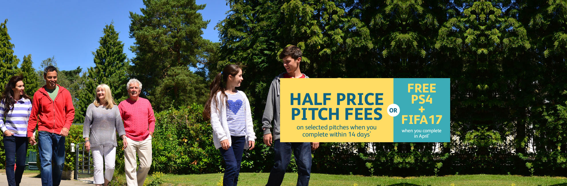 half price pitch fees