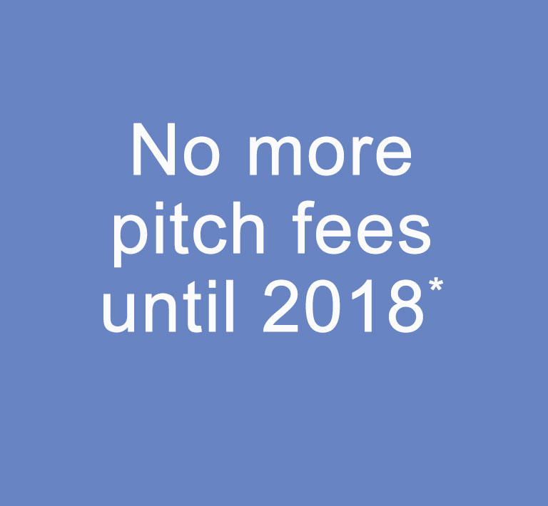no more pitch fees until 2018