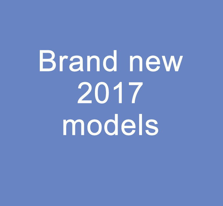 New 2017 models available