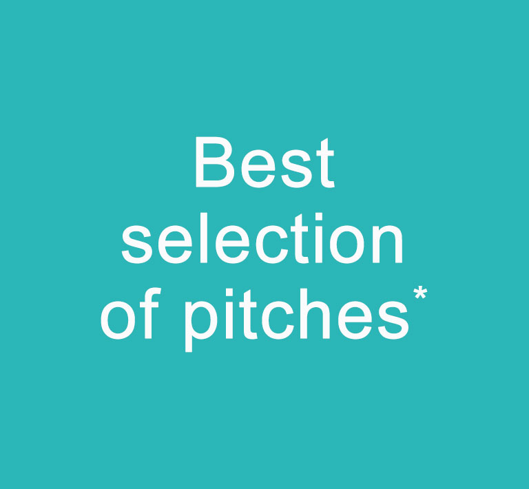best selection of pitches