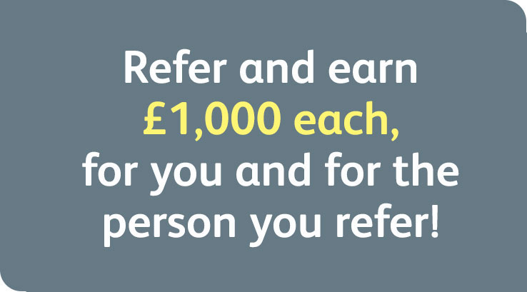 New owner referral offer