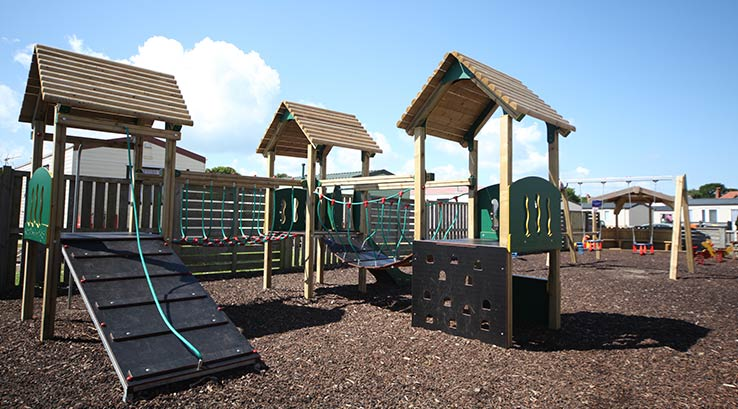 The adventure play park at Hayling Island