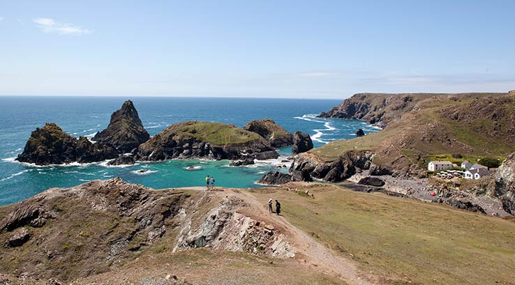 View of Kynance Cove near Mullion