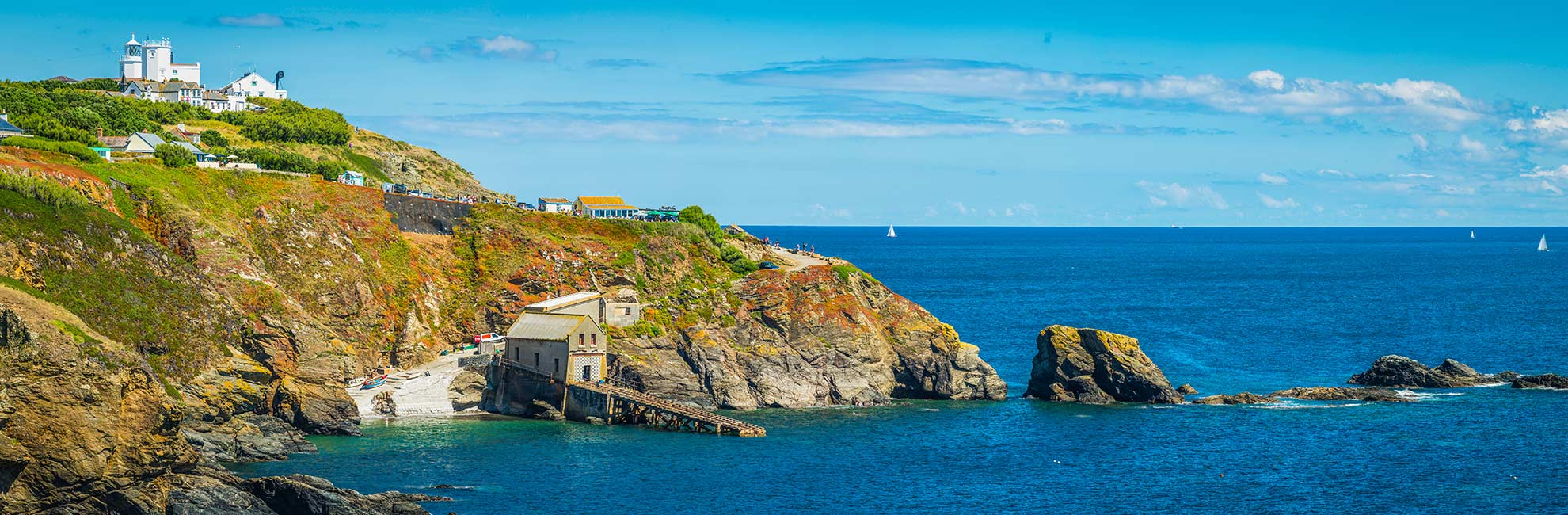 A view out to Lizard Point in Cornwall