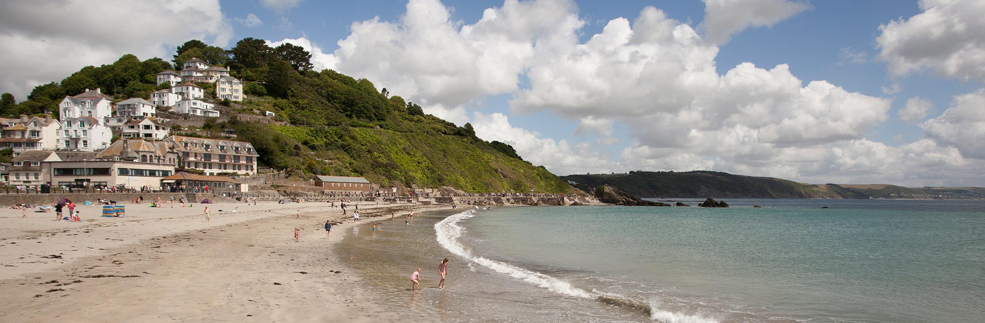 Looe Bay beach