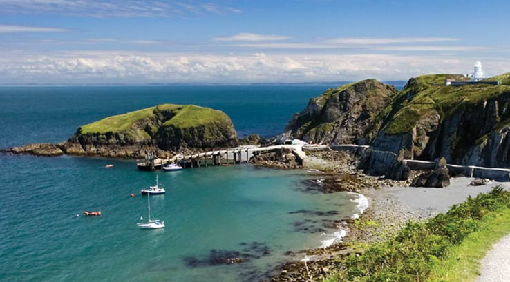 Lundy Island in North Devon