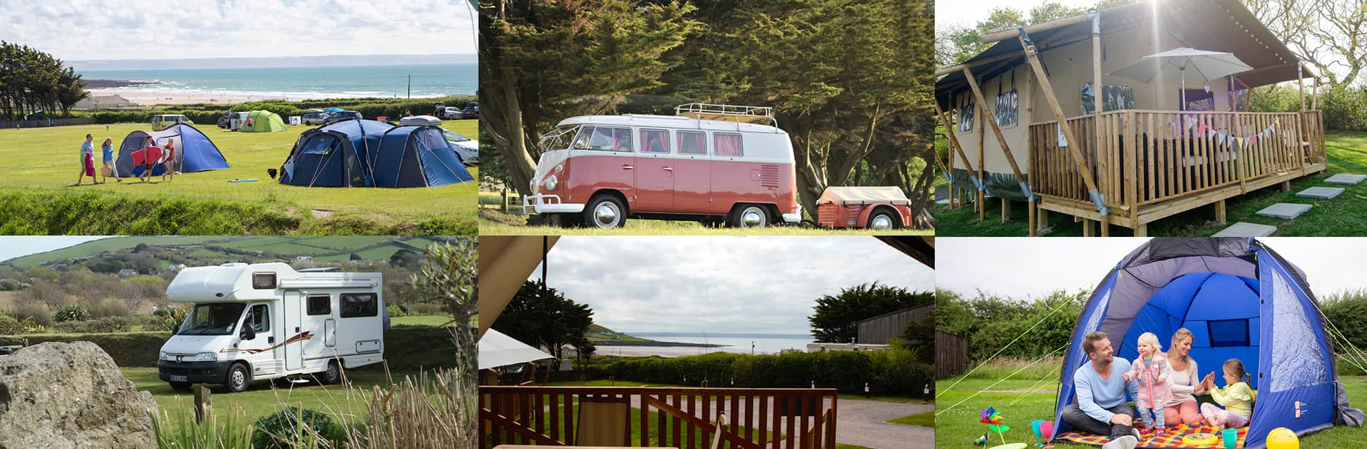 Touring, Camping and Glamping in Devon