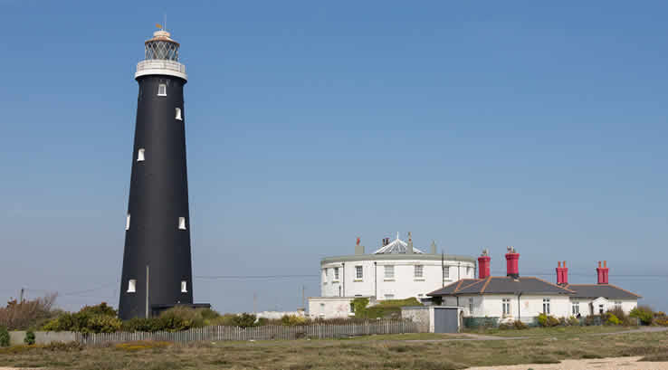 The lighthouse at Dungeness