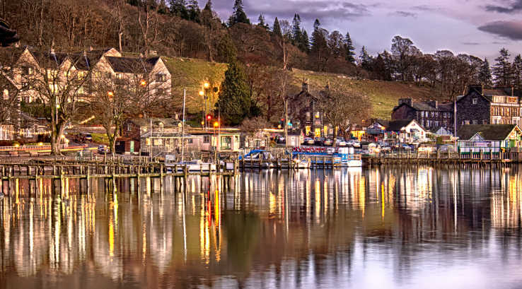 Ambleside at twilight