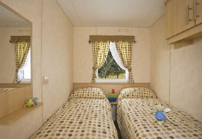 This classic caravan offers comfortable accommodation for up to six. Double glazing and centrally controlled heating keep it cosy.