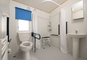 New in 2016, this wheelchair friendly caravan has an access ramp, wider sliding internal doors and a wider corridor for wheelchair access. Plus the spacious bathroom has room to manoeuvre a wheelchair, hand rails next to the toilet and a seat in shower.