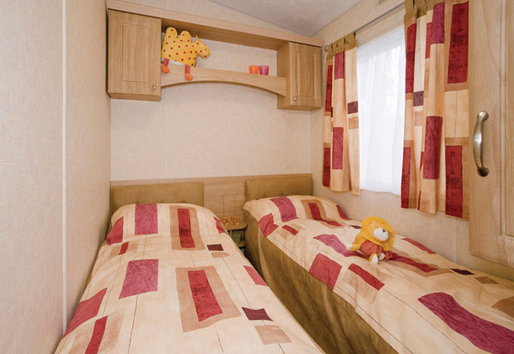 With central heating and double glazing the Eden Caravan is nice and warm. Plus it's got plenty of extra home comforts to make you feel right at home.