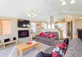 This superb lodge offers you stunning views of Embo beach and the Moray Firth from the veranda. It's a beautiful sight to wake up to! Inside you'll find spacious and stylish living areas with  double glazing, central heating, dishwasher and washer dryer. Plus the master bedroom has an ensuite.